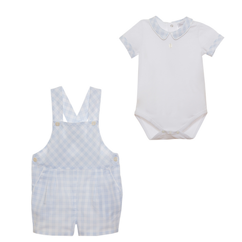 Dungaree and Body Suit Set