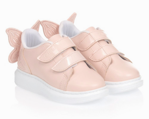 Caramelo Butterfly Pink Trainers
