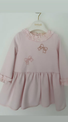 5410 Bimablo Bow Pink Dress