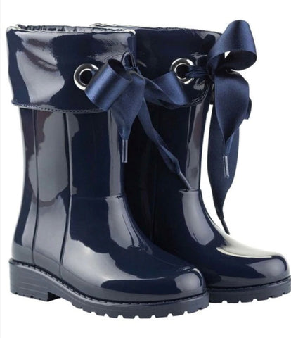 Igor Navy Wellies