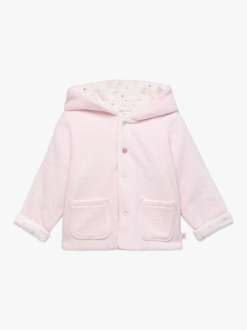 Absorba Reversible Pink Velour Jacket