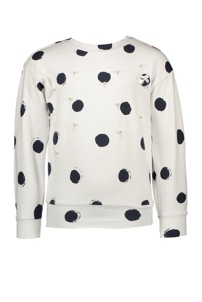 Le Chic Dotty Sweater