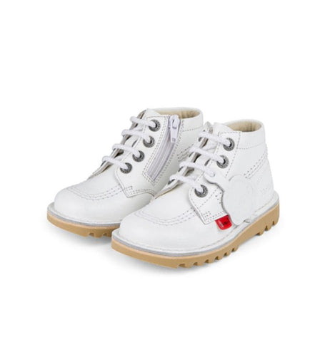 Kickers White Kick Hi