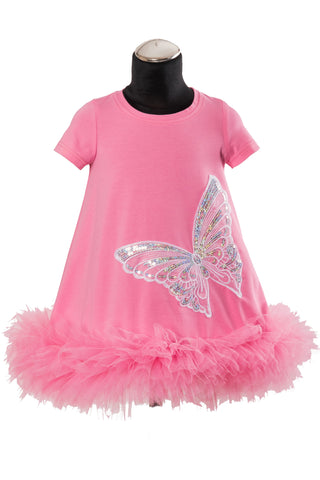 Daga Pink Butterfly Dress