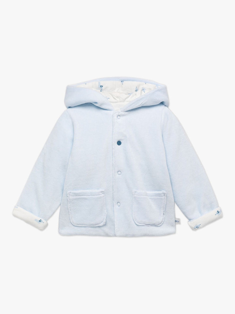 Absorba Reversible Blue Velour Jacket