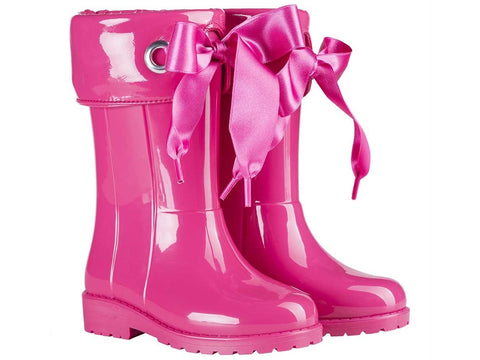 Igor Fuschia Wellies