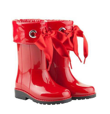 Igor Red Wellies