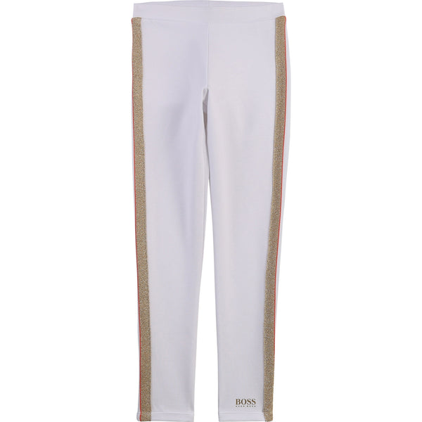 BOSS Girls White Legging J14217