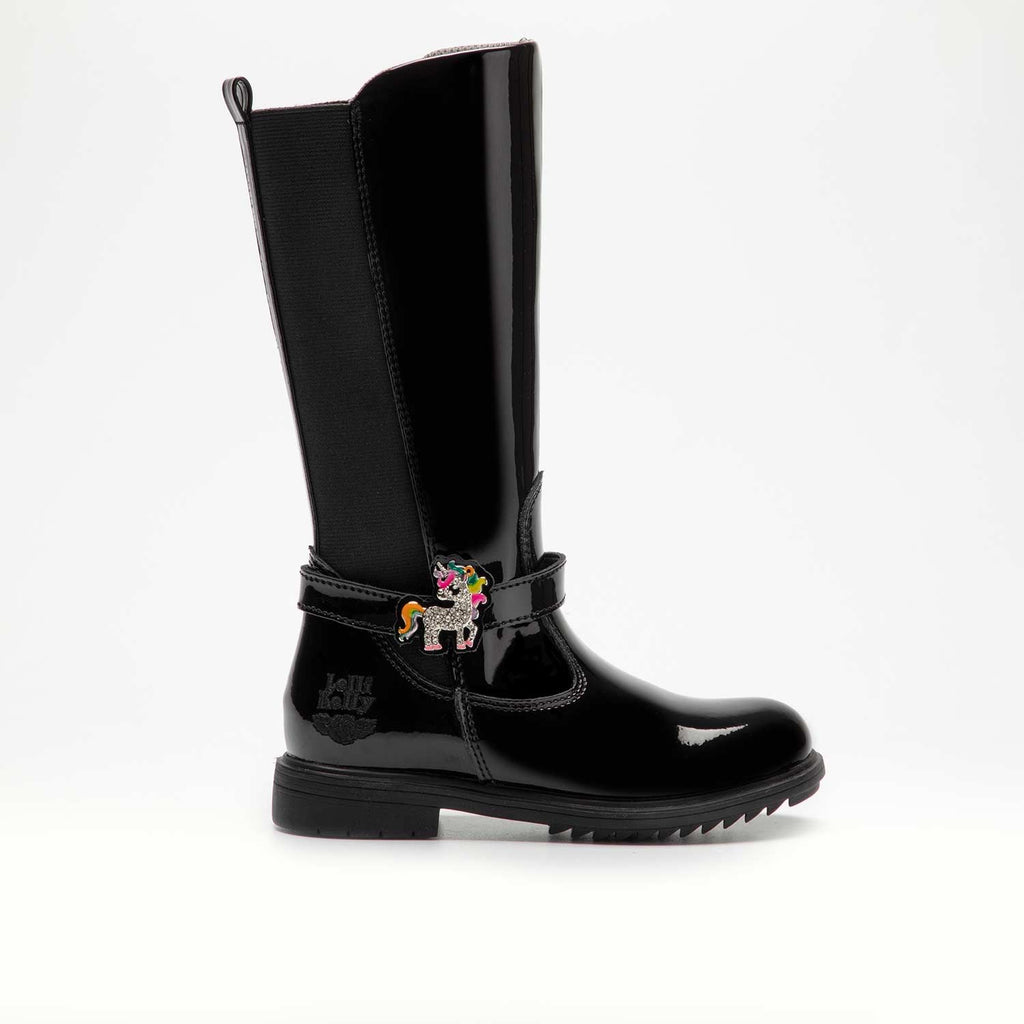 Lelli Kelly Black Boot LK5664