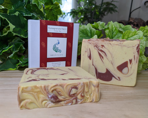 Pomegranate Patch (Vegan Soap Bar)