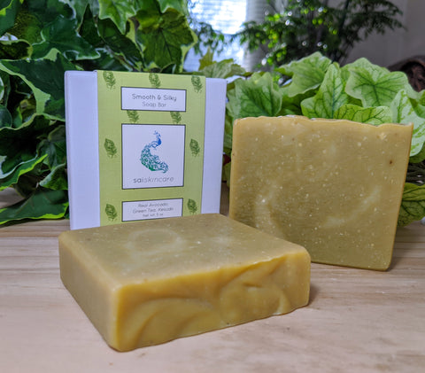 Smooth & Silky (Vegan Soap Bar)