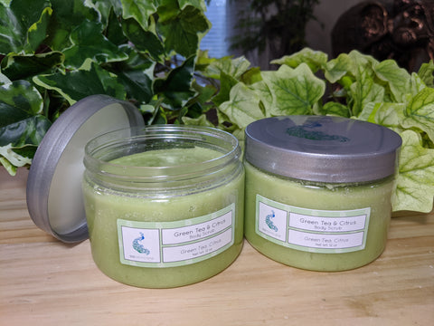 Green Tea & Citrus (12 oz. Body Scrub)