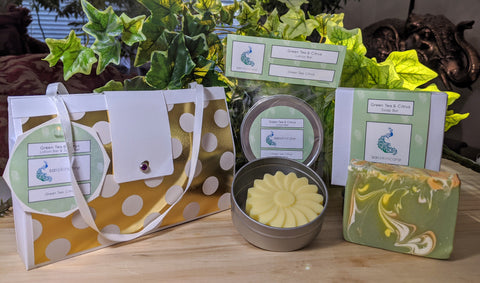 Green Tea & Citrus (Lotion Bar & Soap Bar Set)