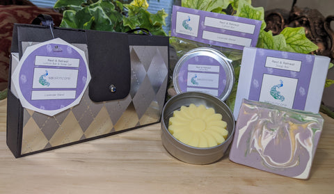 Rest & Retreat (Lotion Bar & Soap Bar Set)