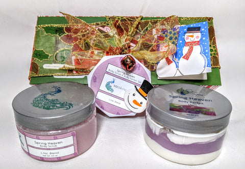 Spring Heaven (4 oz. Body Scrub & 4 oz. Body Parfait Set )