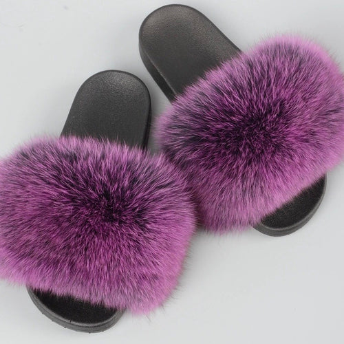 TANIA FLUFFY SLIDERS