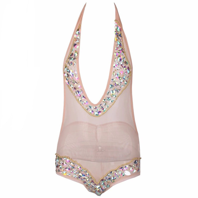 SHAKIRA JEWELLED BODYSUIT