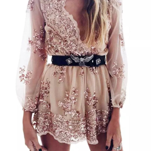 COCO GOLD PLAYSUIT