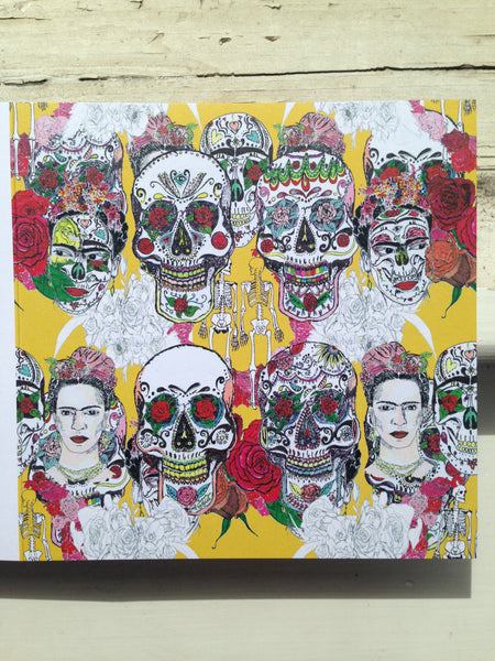 Frida cards - Dia de los Muertos - Set of 4