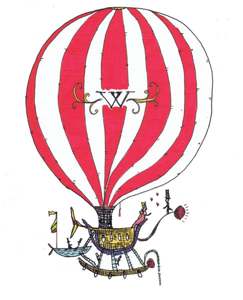 Steampunk Hot-air balloon