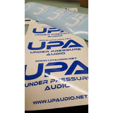 Under Pressure Audio Decals