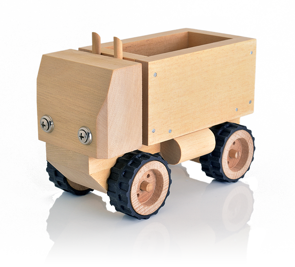 Wooden Trucks Toys And Joys : Short wooden truck for kids to build