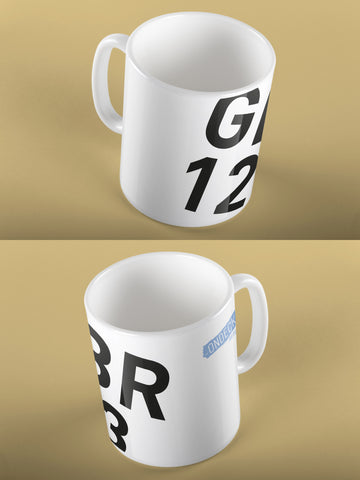 Personalised Sail Number Mug