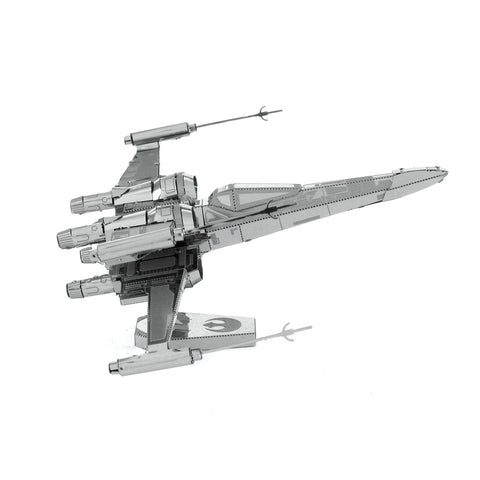 Fascinated SW POE DAMERON'S X-WING FIGHTER 3D Metal Model Kit