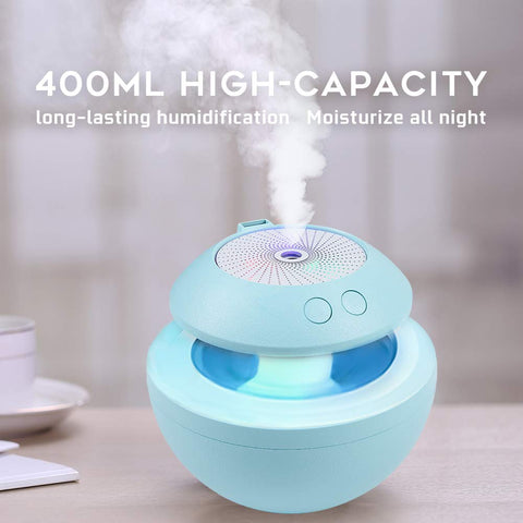 Portable USB Humidifier LED Baby Kids 4 in 1 Personal Room Humidifiers US 450ml