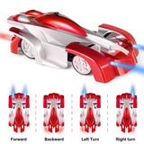 Remote Control Car Toy, Rechargeable Car for Kids Boy Girl Birthday Present with Mini Control Dual Mode 360° Rotating LED Head Gravity Defying
