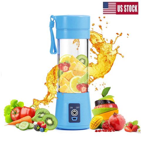 Portable Blender, Smoothie Juicer Cup - Blender for Personal Use (FDA,BPA Free)