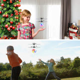 Flying Ball Children Flying Toys Infrared Induction Drone Hand Suspension Helicopter Ball Built-in Shinning LED Lights Toy for Children Kids Teenagers (Transparent Ball)