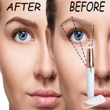 Painless Trimmer Electric Flawless Eyebrow Hair Remover LED Light