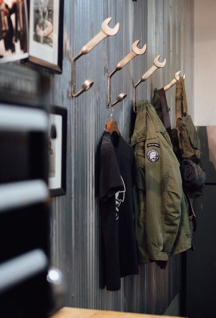 Wrench Coat Rack