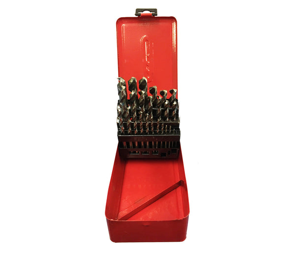 25pc HSS Drill Bit Set 1-13mm