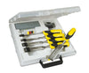 Stanley 5 Piece Dynagrip Chisel Set & Honing Guide 5-16-421