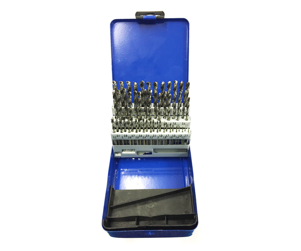 51pc HSS Engineers Precision Drill Bit Set