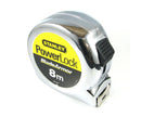 Stanley 8M Powerlock Measuring Tape (Metric Only) 0-33-527