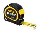 Stanley 8M/26FT Tylon Measuring Tape 1-30-656