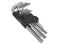 9pc Metric Hex Key Set 1.5-10mm