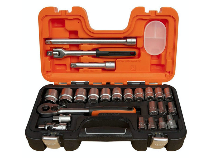 Bahco 24pc Socket Set 1/2 Inch Drive