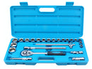 BlueSpot 24pc Metric Socket Set 1/2 Inch Drive