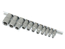 Newsome 11pc Female Torx Socket Set