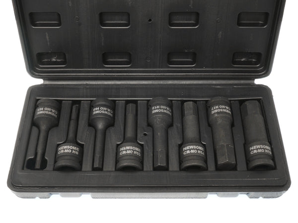 Newsome 8pc Impact Hex Socket Set