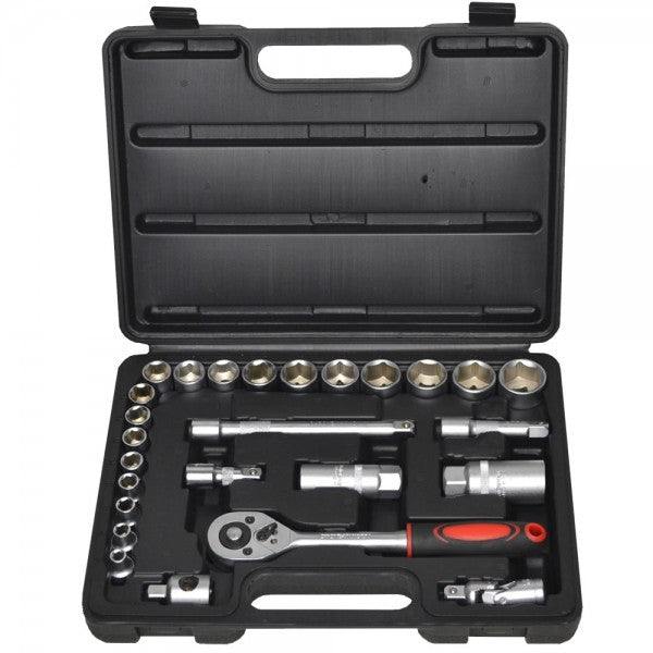 Newsome SKS3826 3/8 Inch Drive Metric Socket Set 26 Piece