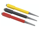 Stanley Dynagrip 3pc Nail Punch Set