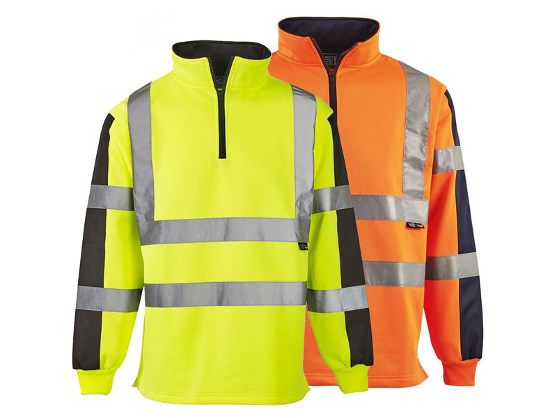 Hi Visibility Two Tone Rugby Top