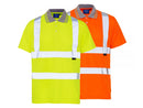 Hi Visibility Short Sleeve Polo Shirt