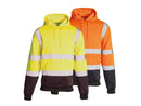 Hi Visibility Two Tone Hooded Sweatshirt