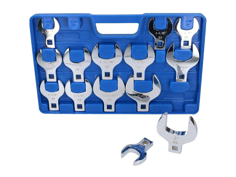 Toolzone 14pc Jumbo Crows Foot Wrench Set